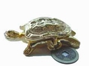 Rising prosperity heavy brass Tortoise