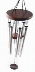 6 metal rod wind chime